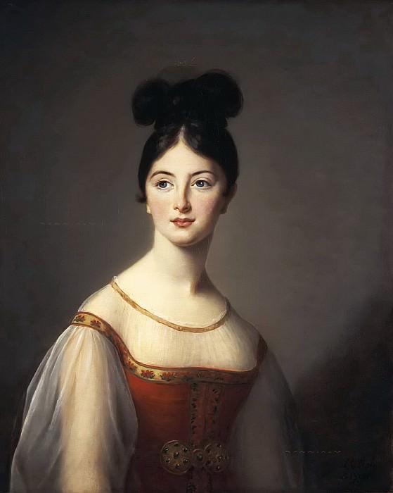 Portrait of a Woman. Élisabeth Louise Vigée Le Brun