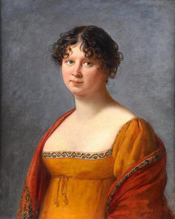 Portrait of Madame Hennet. Élisabeth Louise Vigée Le Brun