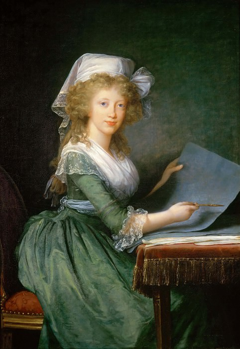Mary Louise of Bourbon, Grand Duchess of Tuscany. Élisabeth Louise Vigée Le Brun
