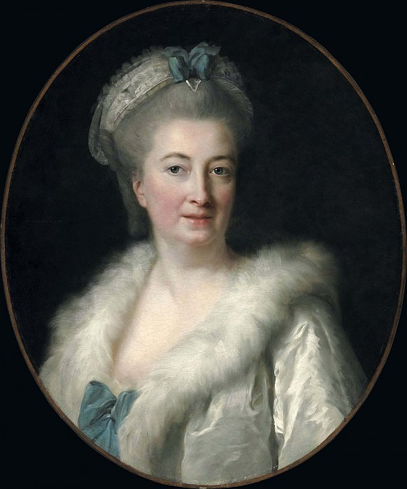 Madame Jacques Francois Le Sevre, the Artist's Mother. Élisabeth Louise Vigée Le Brun