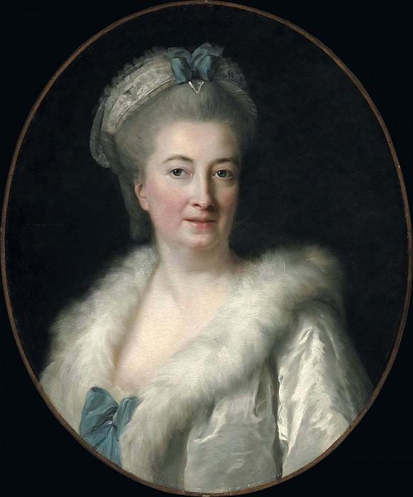 Madame Jacques Francois Le Sevre, the Artist's Mother. Élisabeth Louise Vigée Le Brun