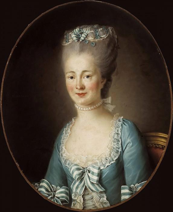 Portrait de jeune femme. Élisabeth Louise Vigée Le Brun (attr)