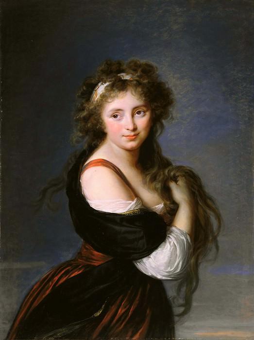 Hyacinthe Gabrielle Roland, Marchioness Wellesley. Élisabeth Louise Vigée Le Brun