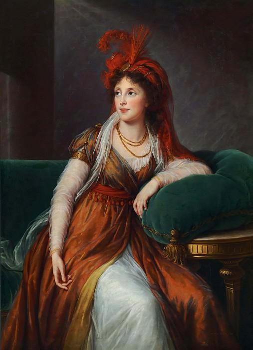 Princess Anna Alexandrovna Golitzin. Élisabeth Louise Vigée Le Brun