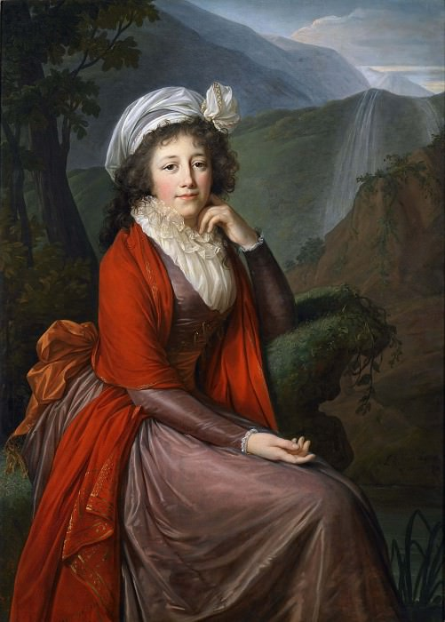 Portrait of Countess Maria Theresia Bucquoi. Élisabeth Louise Vigée Le Brun