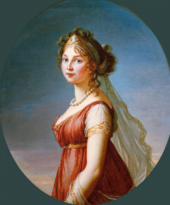 Louise, Queen of Prussia. Élisabeth Louise Vigée Le Brun