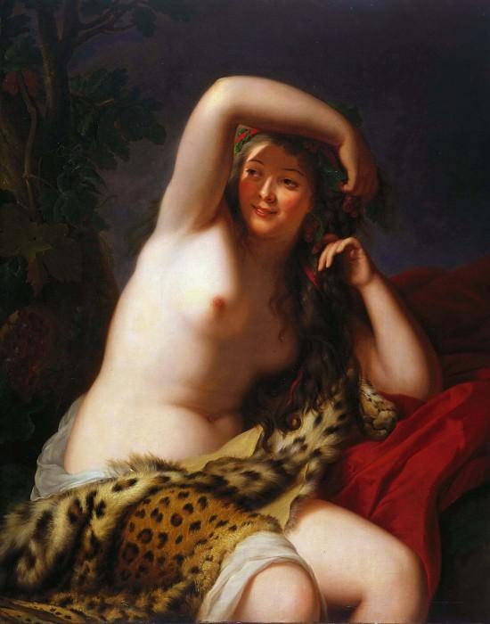 Bacchante. Élisabeth Louise Vigée Le Brun
