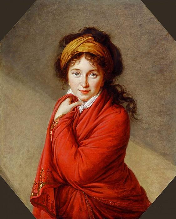 Portrait of Countess Golovine. Élisabeth Louise Vigée Le Brun