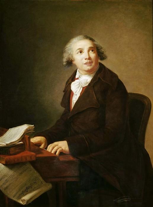 Portrait of Giovanni Paisiello. Élisabeth Louise Vigée Le Brun