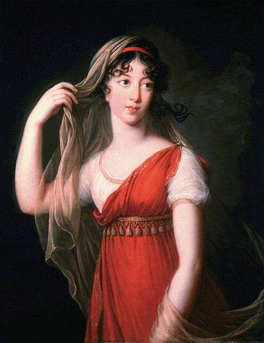 Charlotte Dillon-Lee, married Beauclerk. Élisabeth Louise Vigée Le Brun
