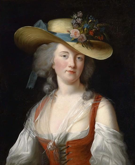 Anne Catherine Le Preudhomme de Chatenoy, Comtesse de Verdun. Élisabeth Louise Vigée Le Brun