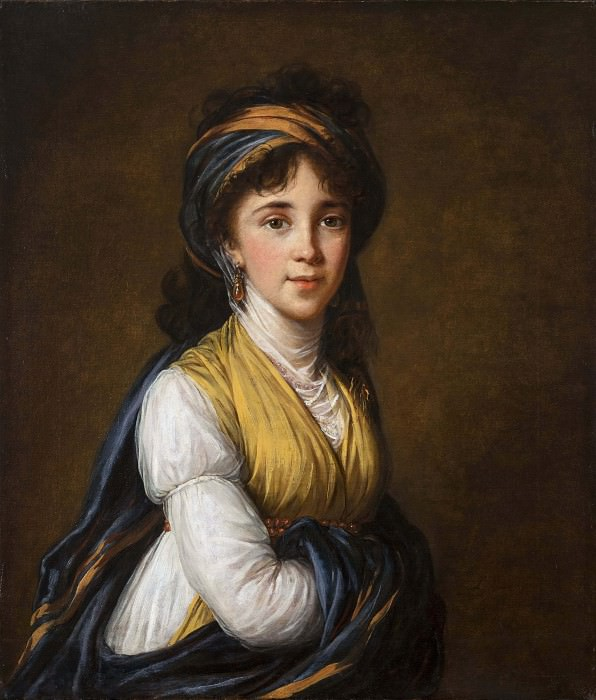 Portrait of Princess Belozersky. Élisabeth Louise Vigée Le Brun