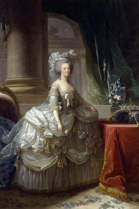 Marie-Antoinette, reine de France (1755-1793). Élisabeth Louise Vigée Le Brun