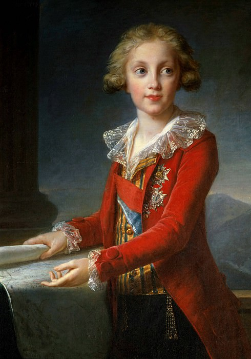 Francis I, King of Naples and Sicily. Élisabeth Louise Vigée Le Brun