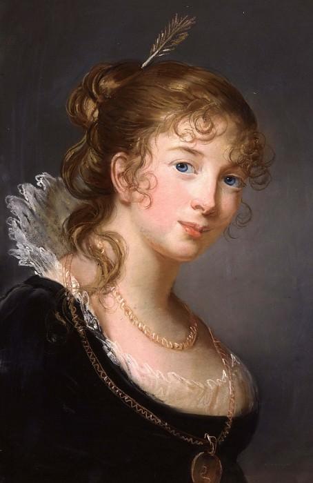 Portrait of Louisa, Princess Radziwill. Élisabeth Louise Vigée Le Brun
