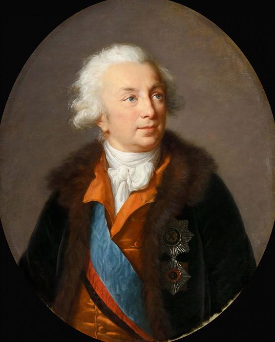 Ivan Ivanovich Shuvalov. Élisabeth Louise Vigée Le Brun