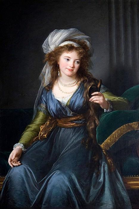 Portrait of Countess Yekaterina Skavronskaya. Élisabeth Louise Vigée Le Brun