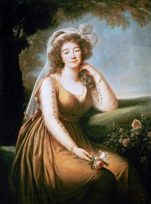 Madame du Barry, Mistress of Louis XV. Élisabeth Louise Vigée Le Brun
