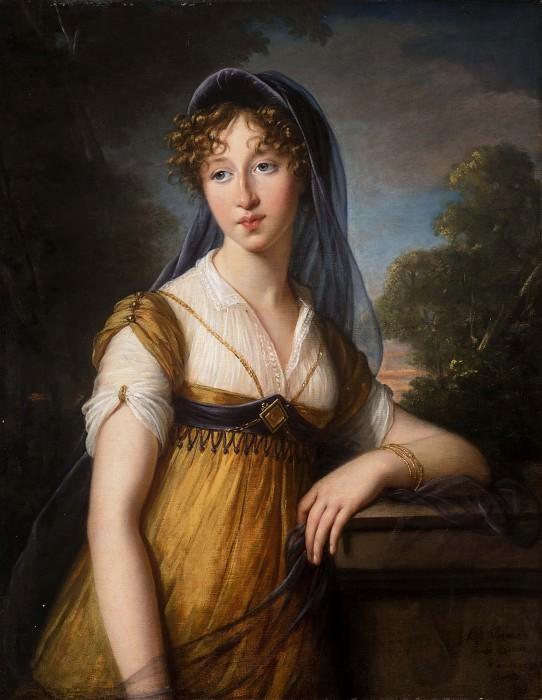 Portrait of a Woman, Said to Be Anne Catherine Augier Vestris. Élisabeth Louise Vigée Le Brun