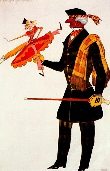 la-boutique-fantastique englishman 1919. Leon Bakst