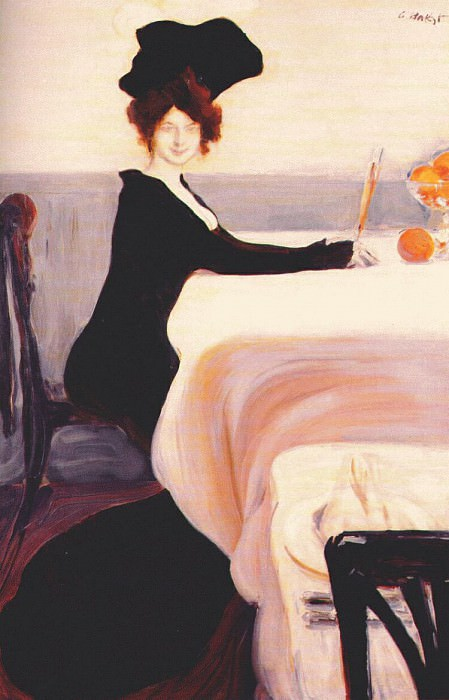 supper 1902. Leon Bakst
