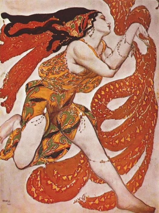 narcisse bacchante 1911. Leon Bakst