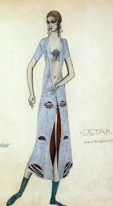 istar ida-rubinstein-as-istar 1924. Leon Bakst