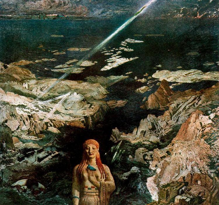 Древний ужас, 1908. Леон Бакст