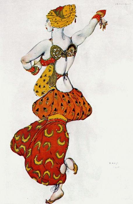 scheherezade odalisque 1910. Leon Bakst