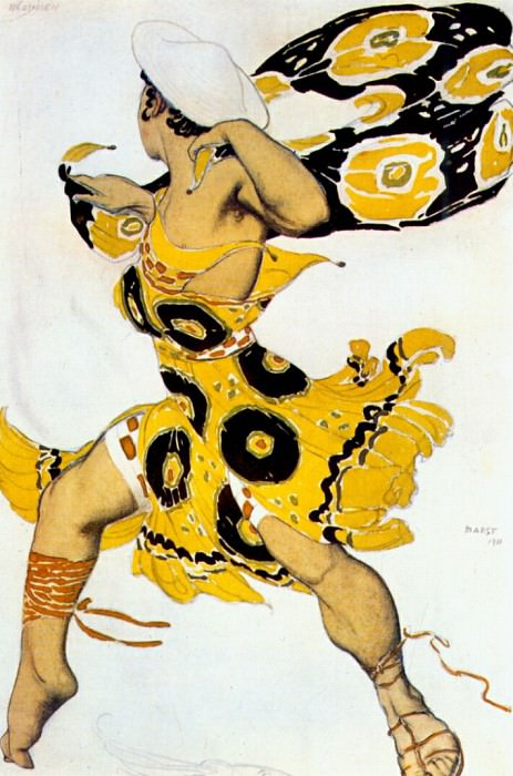 narcisse a-youth 1911. Leon Bakst