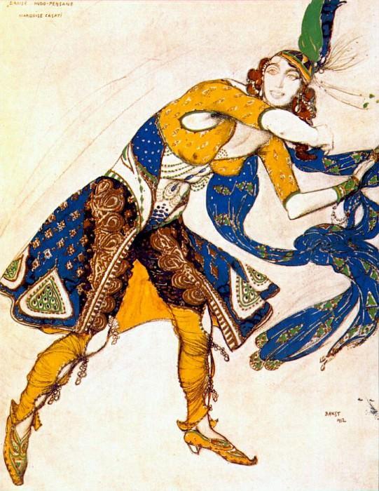 indo-persian dance 1912. Leon Bakst