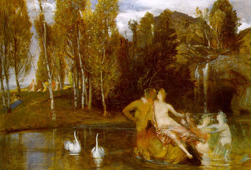 1877 Elysian Fields. Arnold Böcklin