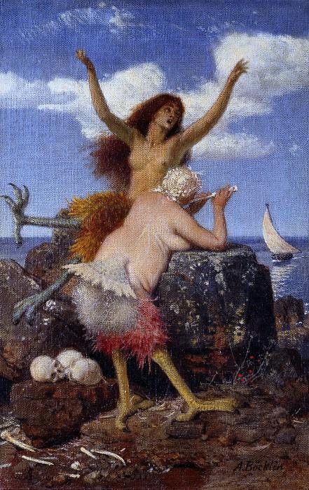 Sirens. Arnold Böcklin