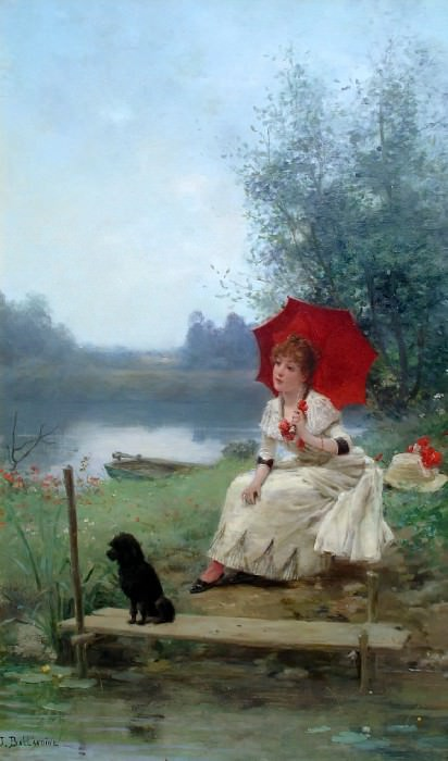 Wistful Thoughts. Jules Frederic Ballavoine