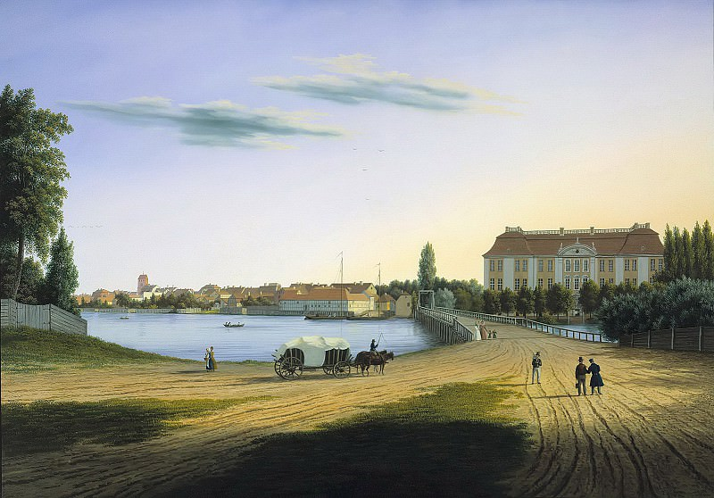 View a Castle Kopenick. Wilhelm Barth