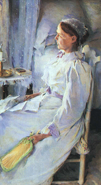 New England Woman Mrs Jedediah H Richards. Cecilia Beaux
