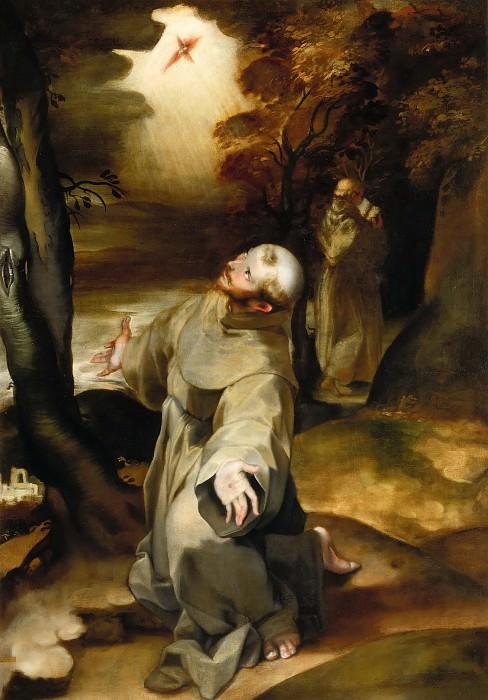 Святой Франциск, получающий стигматы. Федерико Бароччи
