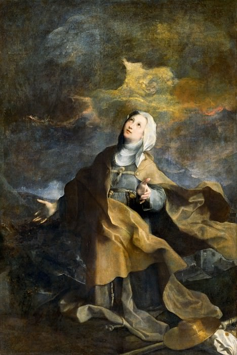 The Blessed Michelina. Federico Barocci