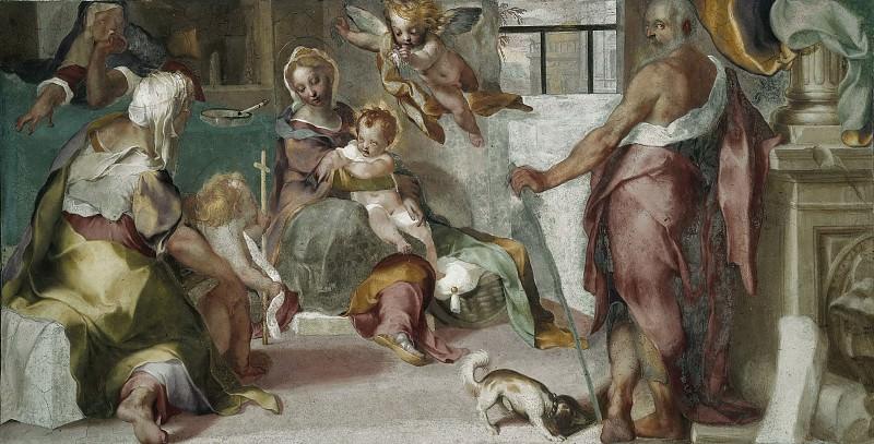Holy Family. Federico Barocci
