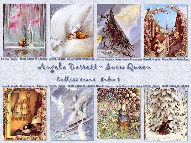 Snow Queen. Angela Barrett