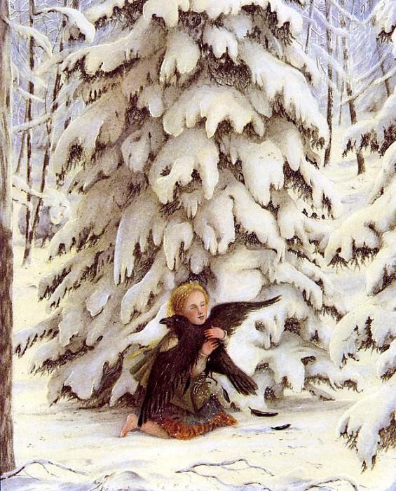 Snow Queen. Angela Barrett