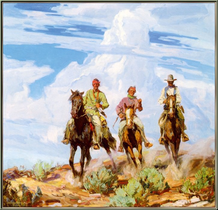 Sons of the Desert. Carl Oscar Borg