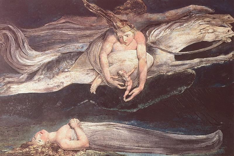 Divine Comedy. William Blake