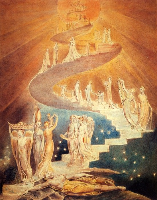 Jacobs Ladder. William Blake