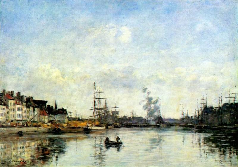 dunkirk (entrance to the harbor) 1889. Eugene Boudin