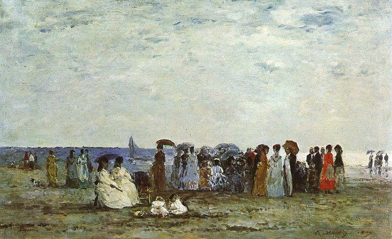 Boudin, Eugene (French, 1824-1898)1. Eugene Boudin