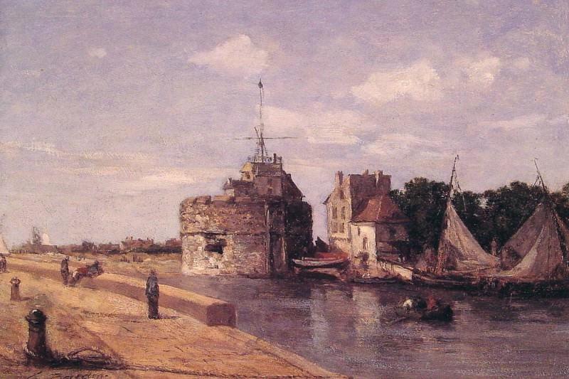 Le Havre la tour Francois. Eugene Boudin