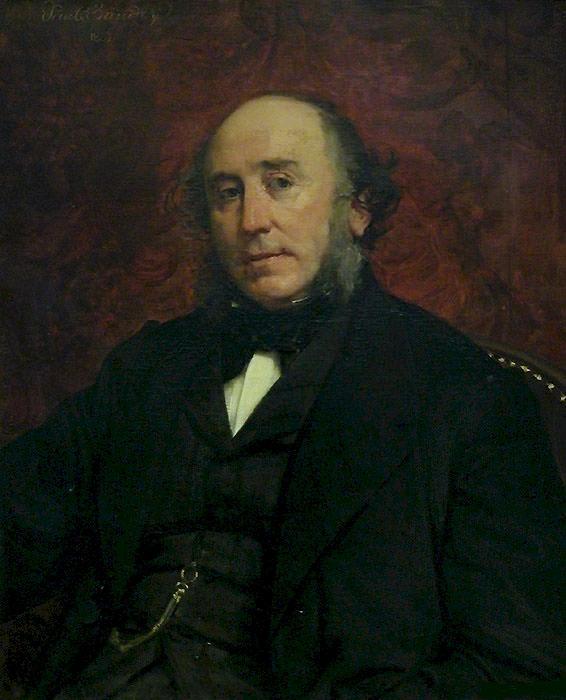 Портрет Альбера Бёрделея. Поль Бодри
