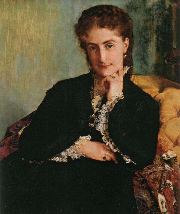 ritratto della signora cezard. Paul Baudry