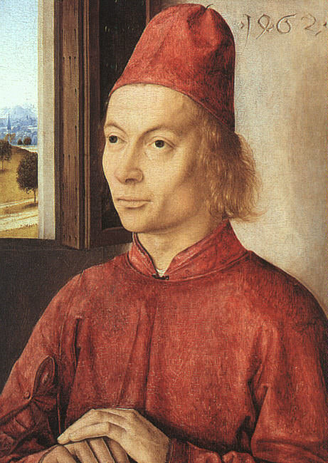 Portrait of a Man, 1462, The National Gallery, Lond. Dieric Bouts